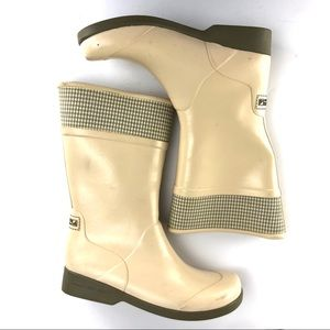 Sperry Top Sider Rubber RainBoots Size 7